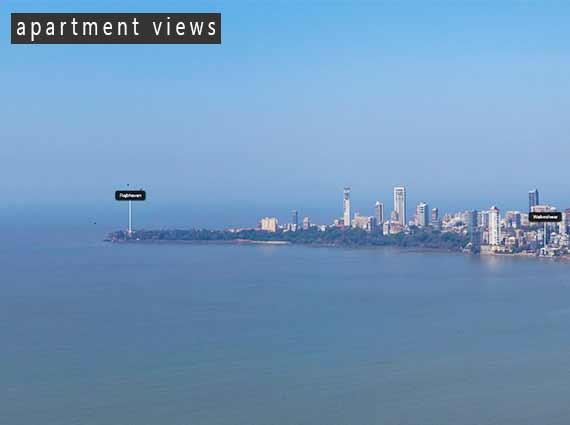 View of Sea Marine Drive Apartments